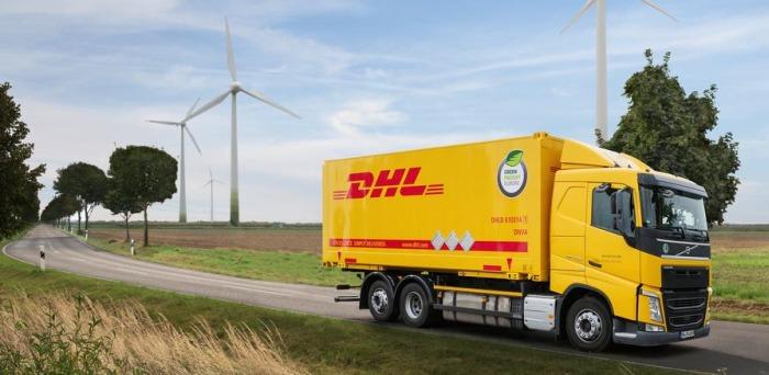 Wir versenden nachhaltig mit DHL GoGreen