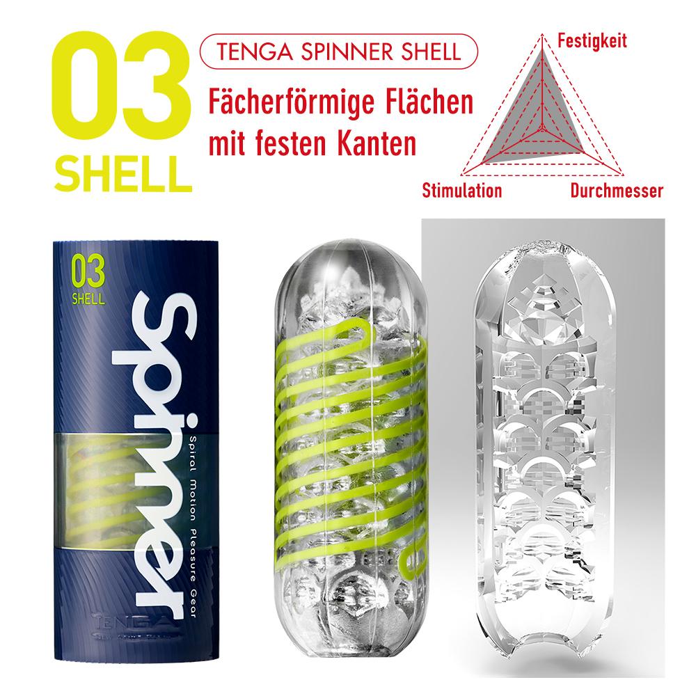 Tenga Spinner Shell SPN-003 Masturbator