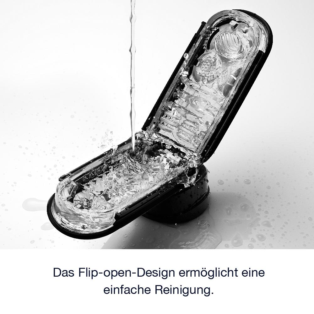 Reinigung und Pflege des Tenga Flip Zero