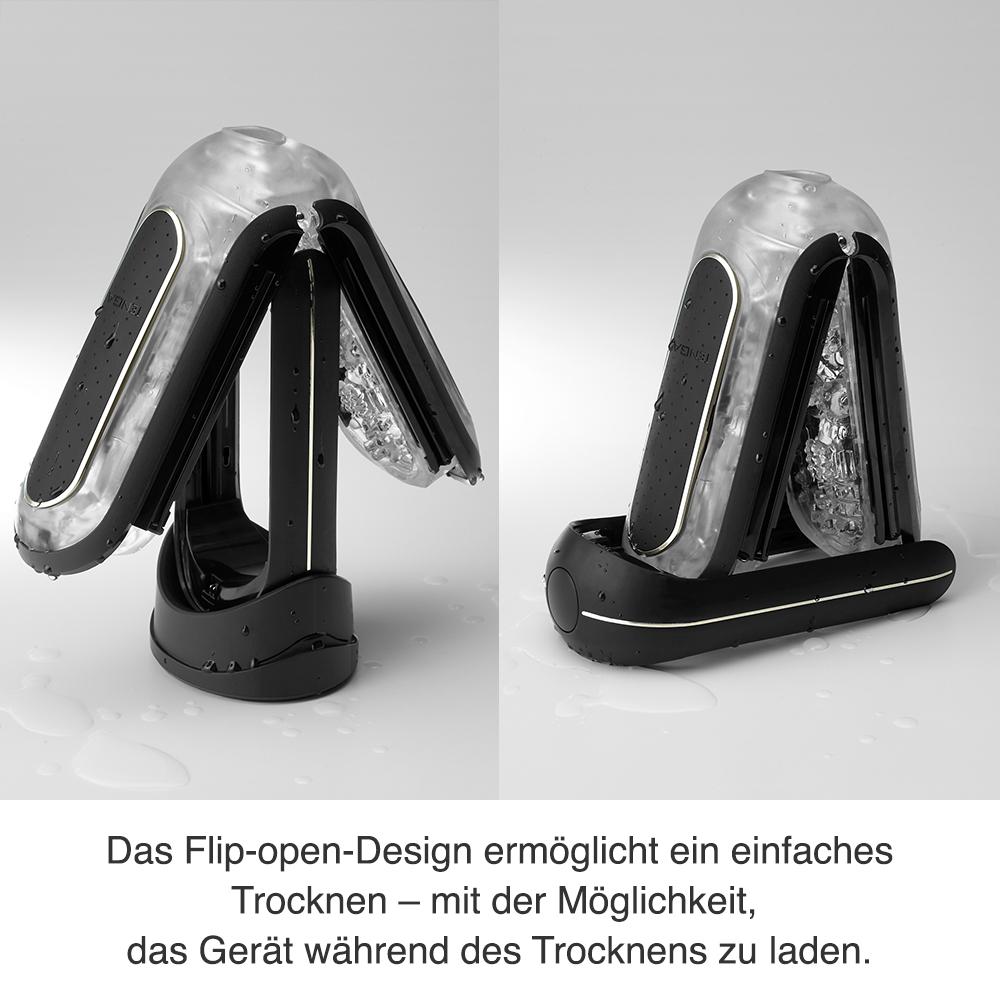 Reinigung und Pflege des Tenga Flip Zero Elektrische Vibrationen Strong
