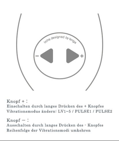 Benutzung der Iroha Plus Vibratoren