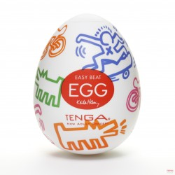 Tenga Keith Haring Egg Street - Feel the Rush of the Street