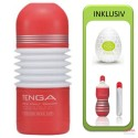 Tenga Rolling Head Cup Value Pack (Cup + Hole Warmer + Egg Clicker)