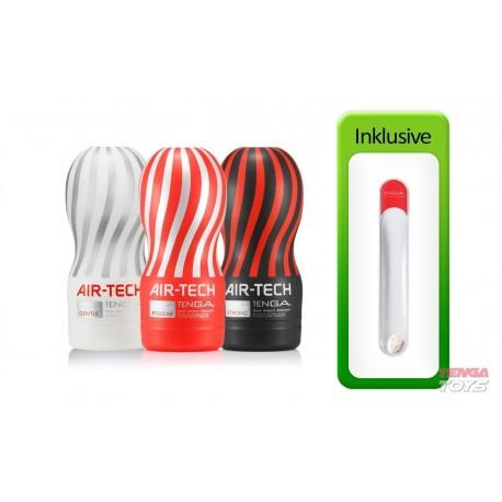 Tenga Air-Tech Value Pack (3 Air-Tech Cups + Hole Warmer)
