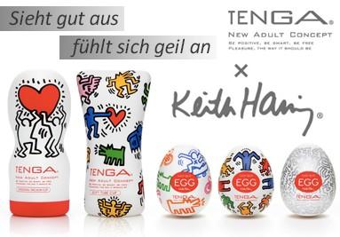 Keith Haring Tenga Toys